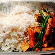 Recipe photo: Garlic Ginger Tofu