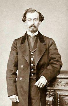 General Miguel Miramón.   Fuerzas del gobierno imperial mexicano.