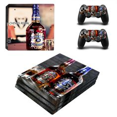 Chivas regal Whisky PS4 Pro Vinyl Sticker Skin and for two controllers