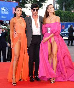 Dayane Mello, Matteo Manzini and Giulia Salemi attend the premiere of 'The Young…