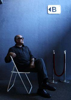 Abbas Kiarostami - more info: http://en.wikipedia.org/wiki/Abbas_Kiarostami