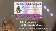 Ukulele Club Festive Fundraiser Band promo