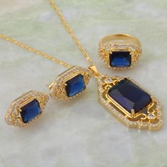 Brand designer Elegant Fashion jewelry <font><b>sets</b></font> Blue zircon <font><b>Pendants</b></font>/Ring/<font><b>Earring</b></font> 18K Yellow <font><b>Gold</b></font> <font><b>Plated</b></font> size 6 8 9 S203 Price: INR 733.161  | http://www.cbuystore.com/product/brand-designer-elegant-fashion-jewelry-font-b-sets-b-font-blue-zircon-font-b-pendants-b-font-ring-font-b-earring-b-font-18k-yellow-font-b-gold-b-font-font-b-plated-b-font-size-6-8-9-s203/10160390 | India