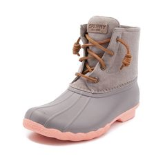 8a9e3f3a6b81ea Sperry Saltwater Pop-Outsole Waterproof Cold-Weather Duck Boots