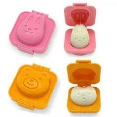 Making eggs fun! My daughters would just adore these.