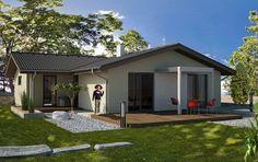 Návrh rodinného domu Top od APEX ARCH s.r.o. Garage Doors, Outdoor Decor, Home Decor, Houses, Decoration Home, Room Decor, Home Interior Design, Carriage Doors, Home Decoration