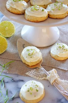 Tarragon Lime Cookies / Patty's Food