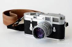 Leica M3 With Leather Strap Photograph by RicardMN Photography