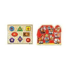 Love Melissa and Doug puzzles for Fiona.