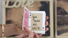 She Thinks Up 52 Ways To Say I Love You And Puts Them On A Deck Of Cards (Unique…