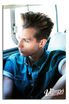 The Vamps Poster - James McVey