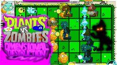 NUEVO Plants vs Zombies Destrucción Dimensional ! (PvZ Fangame) Plants Vs Zombies, Zombie 2, Mario, Succulents