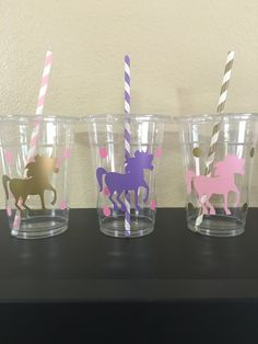 Hey, I found this really awesome Etsy listing at https://www.etsy.com/listing/455455008/unicorn-party-cups