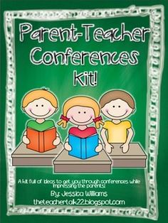 These are a few things I use to prepare myself for parent-teacher conferences! I am sharing it with you in hopes that it can help you out as well! Enjoy! Jessica theteachertalk22.blogspot.com