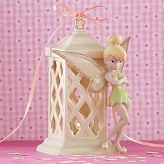 Pixie Bright Lighted Anniversary Figurine by Lenox Images Disney, Art Disney, Disney Stuff, Tinkerbell 3, Peter Pan And Tinkerbell, Disney Figurines, Collectible Figurines, Original Disney Princesses, Cross Purses