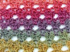 Crochet: Punto Calado # 29 - YouTube
