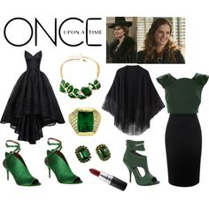 Once Upon A Time / Zelena-Wicked Witch Of West by olivethegreat2002 on Polyvore…