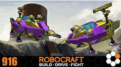 Robocraft 'Blobberts' Build and Gameplay