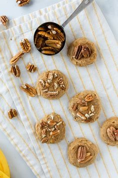 Mornings are so sweet with Gluten Free Peanut Butter and Walnut Breakfast Cookies! Gluten Free Rolls, Gluten Free Grains, Gluten Free Sweets, Gluten Free Dinner, Gluten Free Cookies, Gluten Free Baking, Gluten Free Recipes, Gluten Free Peanut Butter, Gluten Free Brownies