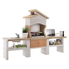 cucine da esterno - cucina bianca da esterno | barbecue grill ... - Cucine Da Esterno Ikea
