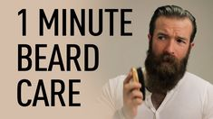 1 Minute Beard Grooming   Jeff Buoncristiano