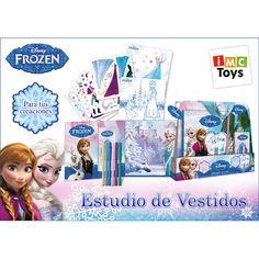 Juguete FROZEN ESTUDIO DE VESTIDOS Precio 14,57€ en IguMagazine #juguetesbaratos