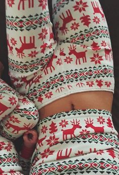 Christmas Fashion Print Cotton Pajamas For Women