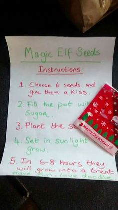 Magic elf seeds