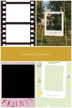 Insert your photos into Film Strip - Vertical - Insert 4 Photos / ecard. Upload your photos, move, resize and rotate them to fit in the frame. Download / Print / Share. 100% FREE. Write on images. Personalize all types of photo frames / eCards / photo effects. #polaroid frame Today Pictures, Taking Pictures, Art Pictures, 4 Photos, Your Photos, Digital Collage, Digital Camera, Instamatic Camera, Frame Download