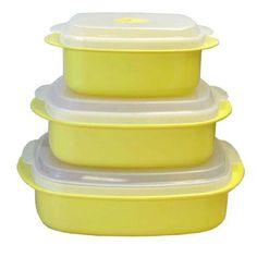 Calypso Basics 6 Piece Food Storage Container Set (Set of 2)