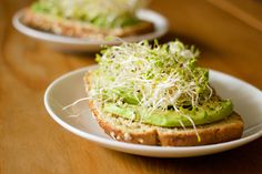 AVOCADO TOAST WITH SPROUTS AND HEMP SEEDS #food #foodporn #foodies