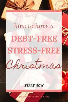 Christmas can be less stressful if you plan and save ahead. Want debt-free, budget- friendly holidays this year? Here is how to budget for Christmas. Financial Literacy, Financial Goals, Ways To Save Money, Money Saving Tips, Best Budgeting Tools, Household Budget, Managing Money, Christmas On A Budget, Early Retirement