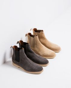 New #CommonProjects Chelsea Boots online now. Sign up for our newsletter so you can be the first to know. by needsupply