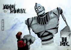 Iron Giant...LOVE this movie