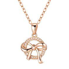 준쥬얼리 14k/18k 공장직영 Bow Jewelry, Disney Jewelry, Simple Jewelry, Photo Jewelry, Cute Jewelry, Jewelery, Gold Circle Necklace, Jewelry Design Drawing, Diamond Eyes