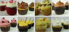 Cupcakes para todos los gustos y sabores. S/.42