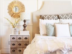 A simple, inexpensive dresser gets an upscale makeover.