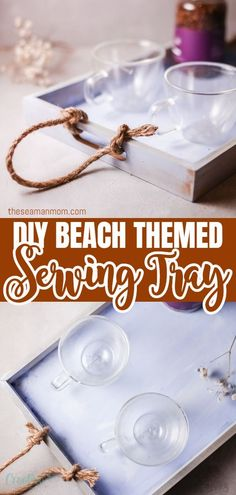 It's summertime! Which means it's the perfect time to bring a little bit of summer flair to your home! This coastal serving tray is a great beginner friendly project that takes little time but packs a punch.  #easypeasycreativeideas #crafts #crafting #coastaldecor #nauticaldecor #summerdecor #summercrafts #homedecor #decorideas #coastaltray Creative Crafts, Diy Crafts, Summer Crafts, Beach Themes, Wonderful Things, Easy Peasy, Coastal Decor, Punch, Summertime