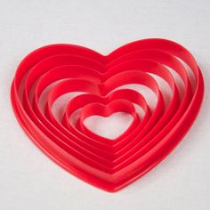 6 Heart Shaped Quilling Form Tools in  to make by littlecircles, $4.99