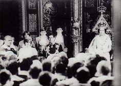 Princess Diana Rare Original Press Photo Opening of Parliament Nov 1981