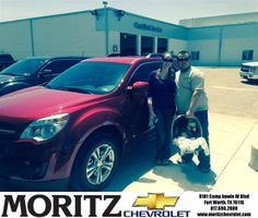 Congratulations to Daryl Jerdon on your #Chevrolet #Equinox purchase from Brian Fullbright at Moritz Chevrolet! #NewCar