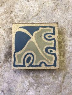 V&B 1 Jugendstil Bodenfliesen Fliese Villeroy & Boch Mosaik Mettlach in Antiquitäten & Kunst, Porzellan & Keramik, Keramik   eBay