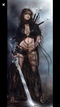 luis royo artist 10 Dead sexy fantasy drawings from the imagination of Luis Royo photos) Fantasy Art Women, Dark Fantasy Art, Fantasy Girl, Dark Art, Fantasy Female Warrior, Female Art, Warrior Women, Fantasy Drawings, Fantasy Artwork