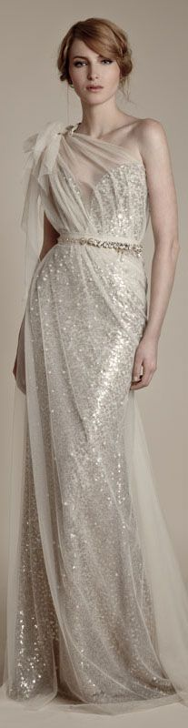 Ersa Atelier Preview 2013 Collection Formal Dresses would be great as a sequin wedding dress