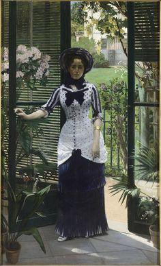 Albert Bartholomé - Dans la serre (Musée d'Orsay)