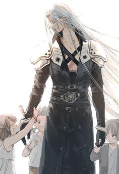 Final Fantasy Cloud, Final Fantasy Artwork, Final Fantasy Characters, Final Fantasy Vii Remake, Fantasy Series, Fantasy World, Thranduil, Chica Anime Manga, Anime Guys