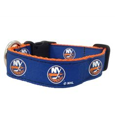 "New New York Islanders NHL All Star Dogs 1"" Dog Collar, Medium NWT  