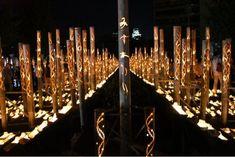 竹灯籠 - Google 検索