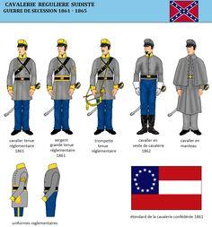 La cavalerie confédérée