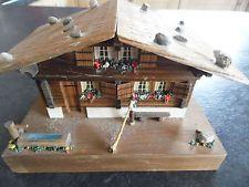Swiss Chalet musical box